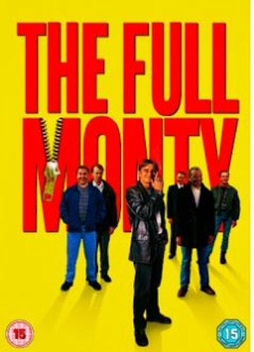 Allt Eller Inget/The Full Monty DVD (import med svensk text)