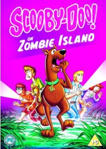 Scooby Doo - On Zombie Island DVD (import med svenskt tal)