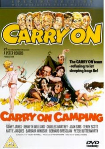 Carry On Camping DVD (import)