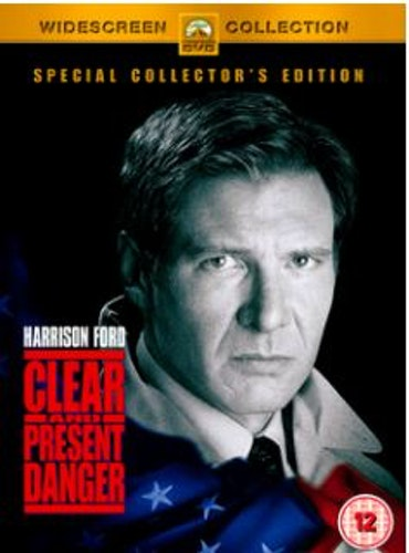 Påtaglig fara/Clear And Present Danger DVD (Import Sv.Text)