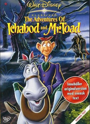 Disney Klassiker 11 - Adventures of Ichabod and Mr Toad DVD
