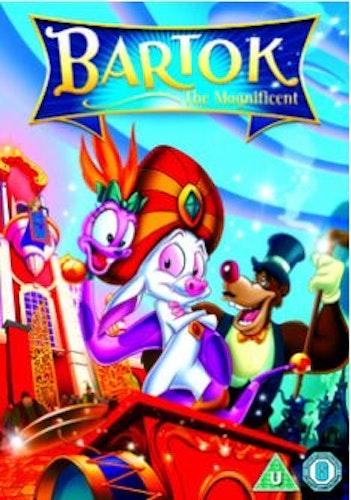 Bartok - en riktig hjälte/Bartok The Magnificent DVD (import med svensk text och tal)