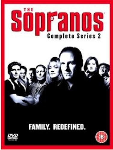 Sopranos Säsong 2 DVD (import med svensk text)
