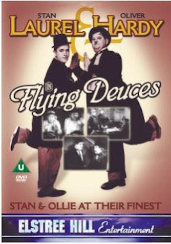 Helan och halvan/Laurel And Hardy - The Flying Deuces DVD (Import)