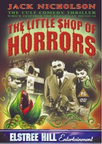 Little Shop Of Horrors DVD (import) från 1960