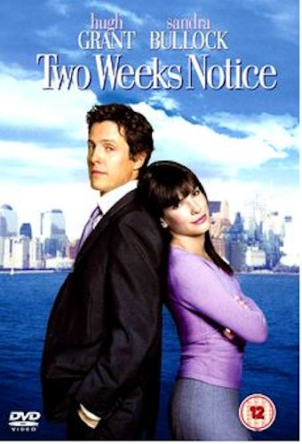 Two weeks notice DVD (Import)