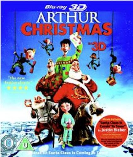 Arthur och julklappsrushen (3D Blu-ray) import