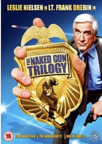 Den nakna pistolen/Naked Gun 1-3 Box DVD (Import Sv.Text)