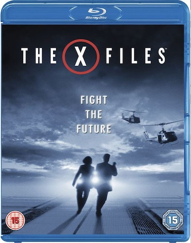The X-Files - The Movie Fight the Future  Blu-Ray (import med svensk text)