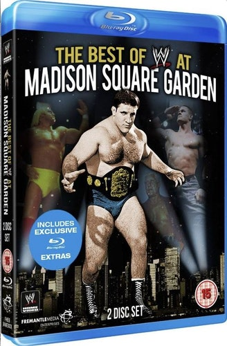 WWE - The Best Of WWE At Madison Square Garden Blu-Ray (import)