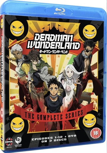 Deadman Wonderland: The Complete Series bluray (import)