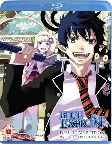 Blue Exorcist - Definitive Edition Part 1 - Episodes 1 to 12 Blu-Ray (import)