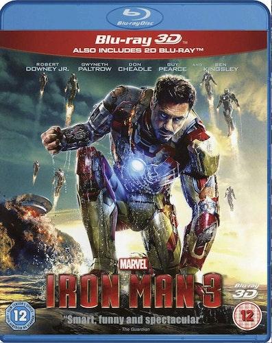 Iron Man 3 (3D Blu-ray) import