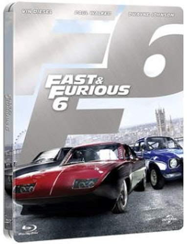 Fast And The Furious 6 Steelbook bluray (import)