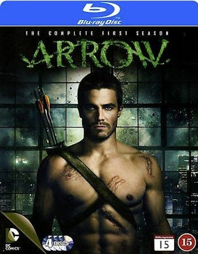 Arrow - Säsong 1 (Blu-ray) (4-disc)