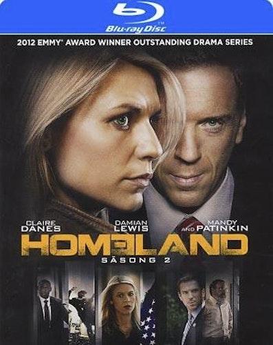 Homeland - Säsong 2 (Blu-ray)
