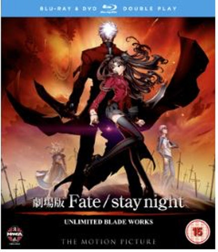 Fate / Stay Night - Unlimited Blade Works Blu-Ray (import)