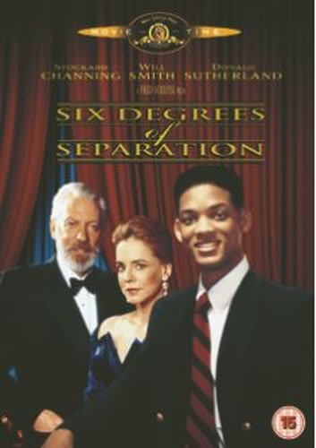 Six degrees of separation DVD (Import Sv.Text)