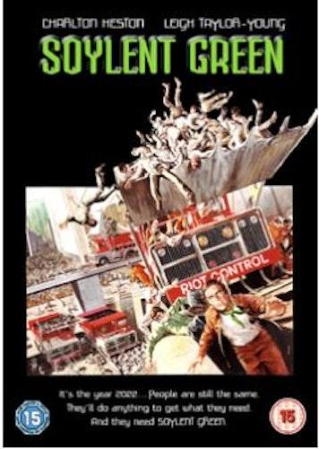 Soylent Green DVD (Import Sv.Text) från 1973