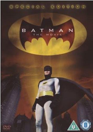Batman - The Movie - Special Edition DVD (import med svensk text) från 1966