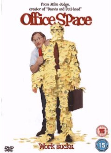 Office Space DVD (Import Sv.Text)