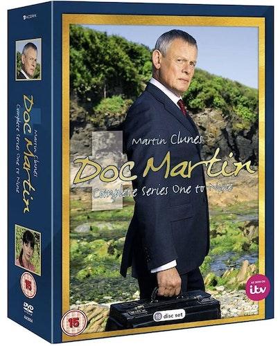Doc Martin Säsong 1-9 DVD (import)