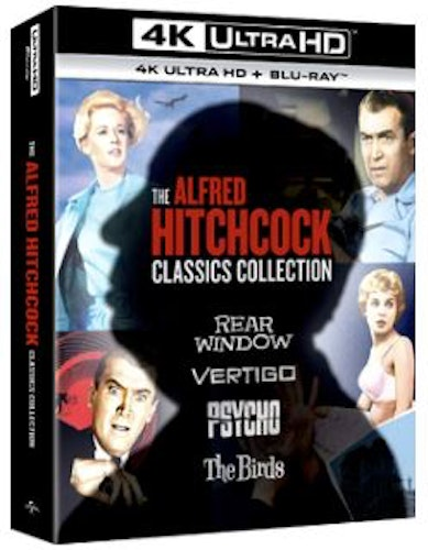 The Alfred Hitchcock Classics Collection 4K Ultra HD (import)