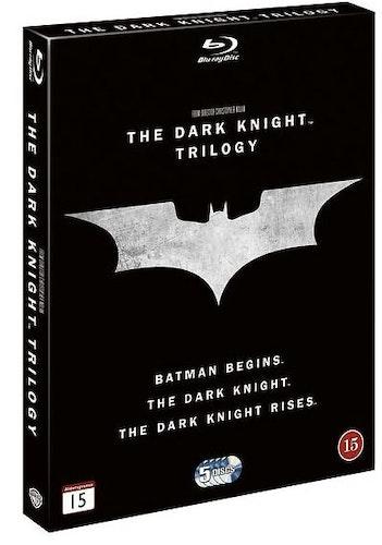 Batman - The Dark Knight Trilogy (2005-2012) (Blu-ray) (5-disc)