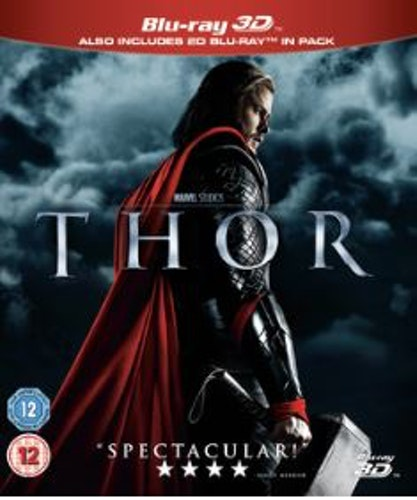 Thor 3D Blu-Ray (import med svensk text)
