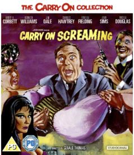 Carry On Screaming Blu-Ray (import) från 1966