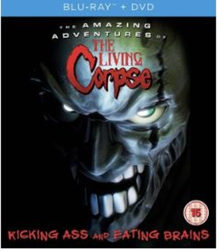 The Amazing Adventures Of The Living Corpse Blu-Ray + DVD (import)