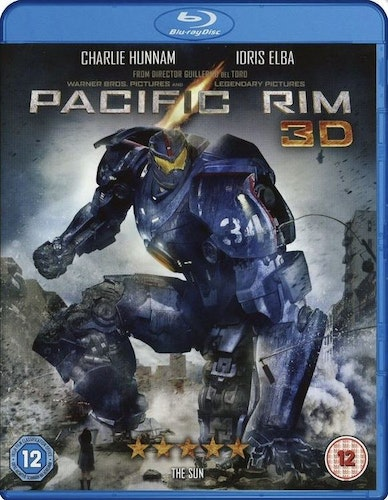Pacific Rim 3D bluray (import med svensk text)