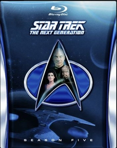 Star Trek: The Next Generation - Säsong 5 (Blu-ray) (6-disc)
