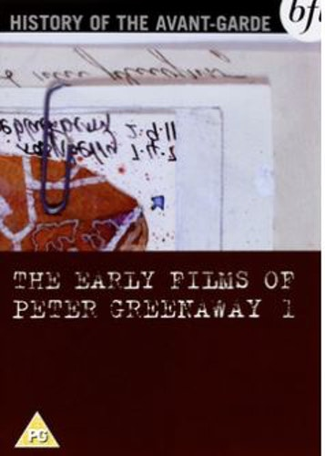 Early Films Of Peter Greenaway - Volume 1 DVD (import)