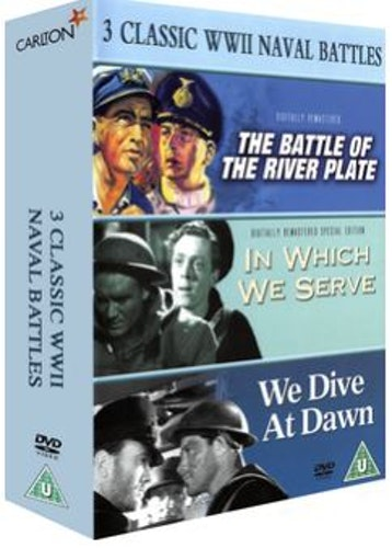 Battle Of The River Plate+In Which We Serve+We Dive At Dawn DVD (import)
