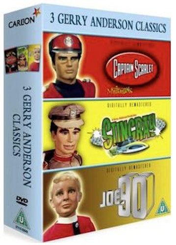 Classic Gerry Anderson DVD (import)