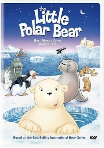 The Little Polar Bear DVD (import)