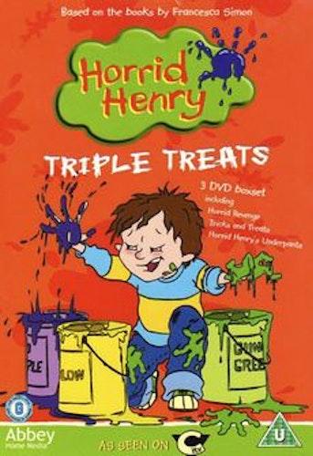 Horrid Henry - Triple Treats DVD (import)