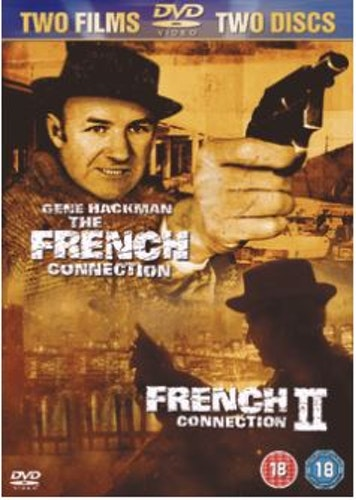 The French Connection 1+2 DVD (import)
