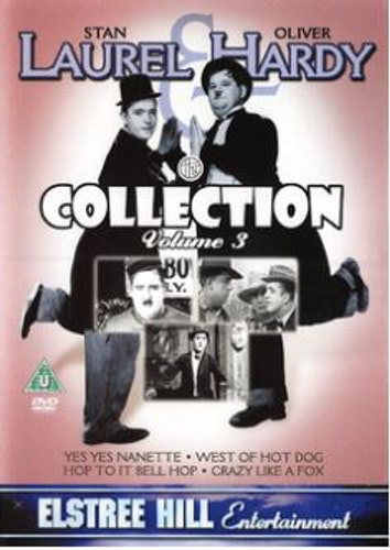 Helan & Halvan/Laurel and Hardy Collection - Volume 3 (4 filmer) DVD import
