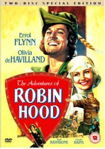 The Adventures of Robin Hood (1938) DVD (Import)