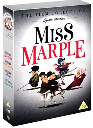 Agatha Christies - Miss Marple Collection DVD (import med svensk text)