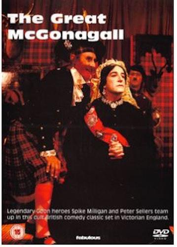 The Great McGonagall DVD (import) från 1974