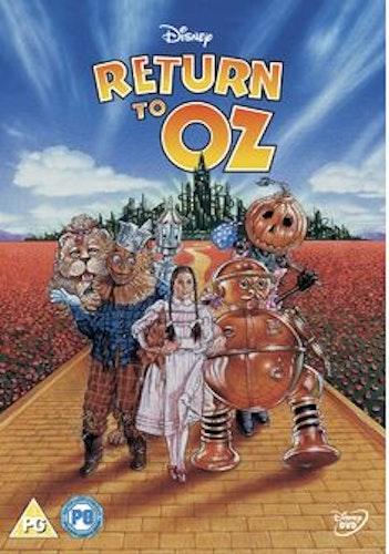 Return to Oz DVD (Import Sv.Text) från 1985