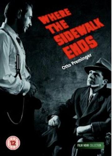 Where the sidewalk ends DVD (Import) från 1950