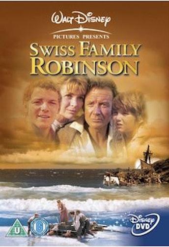Swiss Family Robinson DVD (Import Sv.Text) från 1960