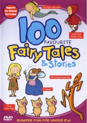100 Favourite Fairy Tales And Stories DVD (import)