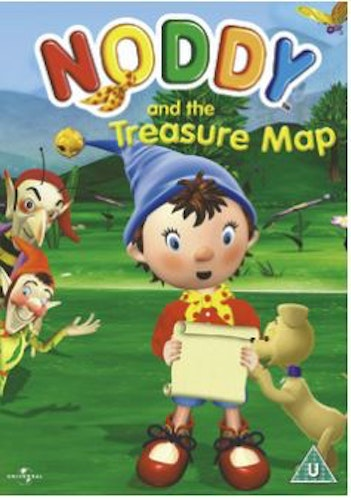Noddy - Noddy And The Treasure Map DVD (import)