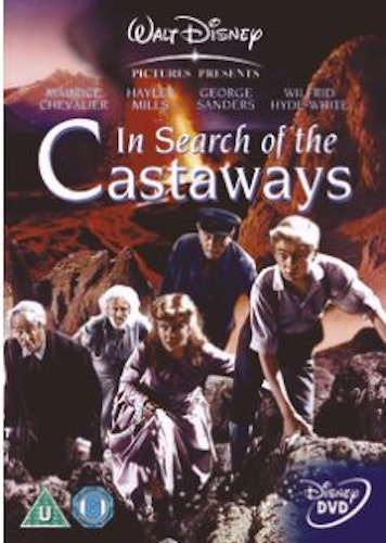 In search of the Castaways DVD (Import Sv.Text) från 1962