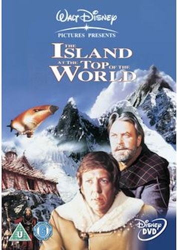 The Island at the top of the world DVD (Import Sv.Text) från 1974